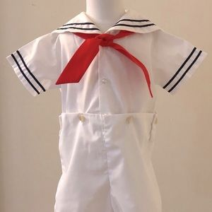 Vintage Boys/Toddler Sailor Suit